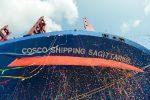Cosco Shipping Lines bautiza nueva nave de 20.119 TEUs