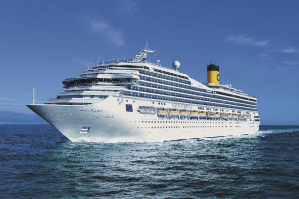 Costa Cruceros invertirá 8 millones de euros para renovar nave de su flota