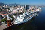 Ocho naves recalarán por primera vez a Rio de Janeiro durante esta temporada de cruceros