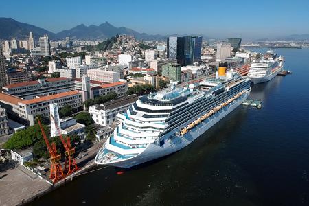 Puerto de Rio de Janeiro recibirá 380 mil cruceristas esta temporada