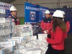 Aduanas incauta 449.500 cajetillas de cigarros en el Puerto de San Antonio
