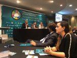 Puerto San Antonio participa de encuentro de cruceros y turismo en Uruguay