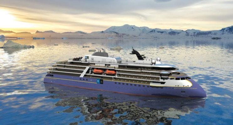 Presentan diseño del crucero de expedición National Geographic Endurance