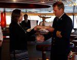 EPAustral inicia temporada de cruceros con la llegada del Zaandam