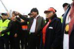 """Evo Morales asegura que el tren bioceánico será el """"nuevo Canal de Panamá"""""""