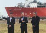 """Presidente argentino despide barco regacificador asegurando que su uso fue """"un engaño"""""""