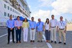 Colombia: Viceministro de turismo visita el terminal de cruceros de Cartagena de Indias