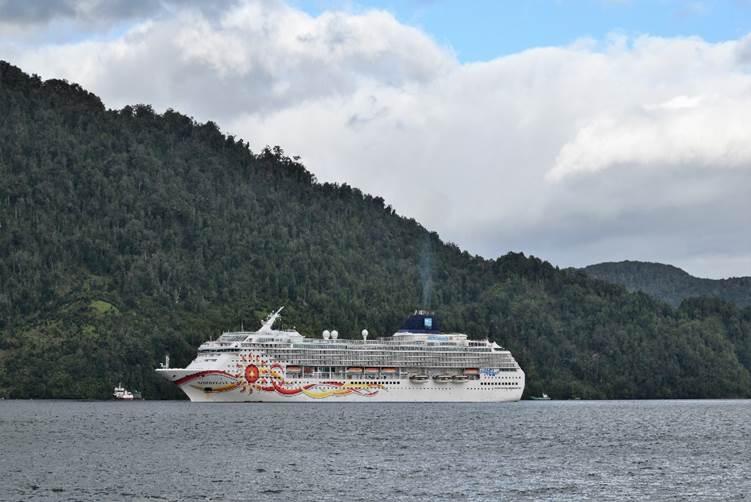 Puerto Chacabuco registrará crecimiento de 89% esta temporada de cruceros