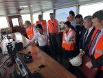 Perú: Inspeccionan obras de dragado en canal de acceso al Puerto de Callao