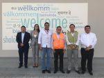 Ministro de Transporte y Obras Públicas de Ecuador visita Terminal de Pasajeros de Manta