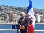 Presidente Piñera asegura que en su Gobierno se iniciará primera etapa del PGE de San Antonio