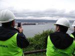 Pymes forestales visitan puertos de la Región del Bio Bio para conocer proceso exportador