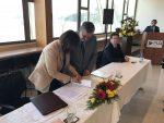 Suseso y Camport firman convenio para mejorar la seguridad laboral en puertos