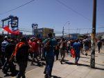 """Portuarios movilizados aseguran que """"aparente"""" normalidad de TPS es """"falsa"""""""