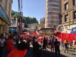 Con amplio respaldo de la Unión Portuaria se inicia décima jornada de paro en el Puerto de Valparaíso