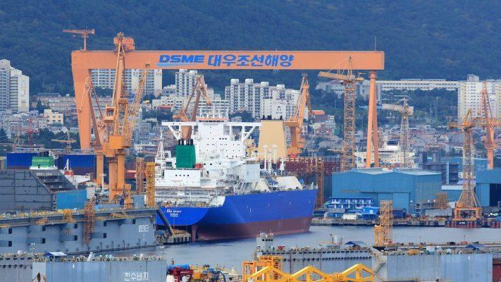 Daewoo Shipbuilding & Marine Engineering construirá seis nuevos portacontenedores