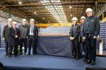 Realizan primer corte de acero del crucero MSC Seashore