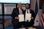 Honduras: ENP y Puerto de Everglades firman acuerdo de colaboración