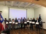 OTEC Carlos Condell certifica a nueva generación de estudiantes en cursos de Operación Portuaria y Seguridad