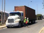 Puerto San Antonio y autoridades realizan coordinación para soportar mayor flujo de camiones por paro en Valparaíso