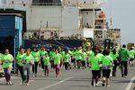 1.300 personas participan en la Corrida Familiar de Puerto Lirquén