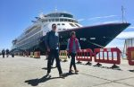 Silver Cloud se convierte en el segundo crucero de la temporada en llegar al Puerto de Coquimbo