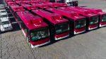 [Video] Así fue la llegada de los buses eléctricos del Transantiago a Puerto Central