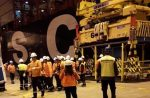 Trabajadores reportan accidente en Puerto Central
