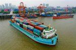 China: Cosco coloca en servicio nueva nave de 1.140 TEUs para el río Yangtse