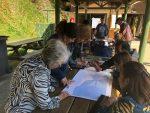 Puerto Ventanas realiza Taller de Educación Ambiental para la gestión de riesgos ante tsunamis o terremotos en Puchuncaví