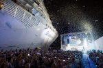 Bautizan oficialmente al crucero más grande del mundo en el Puerto de Miami