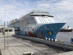 Puerto de New Orleans atiende al crucero más grande en atracar en sus muelles