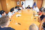 Intendente de Valparaíso se reúne con representantes de los portuarios movilizados