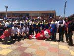 Trabajadores de la Empresa Portuaria Arica reúnen fondos para la Teletón