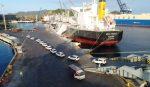 Colombia: Puerto de Santa Marta logra el transbordo buque-buque de 430 vehículos en tres horas