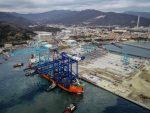 Italia: Arriba la primera grúa STS a APM Terminals Vado Ligure
