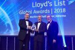 """OOCL es nombrada """"Compañía del año"""" en los Lloyd's List Global Awards 2018"""