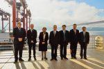 Delegación china visita el Puerto de Lisboa