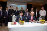 EPSA expone proyecto de Puerto Exterior a delegación china