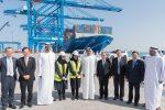 Cosco y Abu Dhabi Ports inauguran nuevo terminal de contenedores en Puerto Khalifa