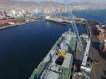 Estudio de la PUC demuestra niveles bajos de polimetales en Puerto de Antofagasta