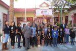Academia de artes patrocinada por Ultraport cierra su primer año con una exposición en Mejillones