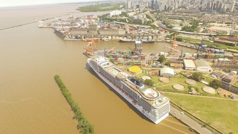 Proyecto de modernización del Puerto de Buenos Aires separa la carga de los cruceros