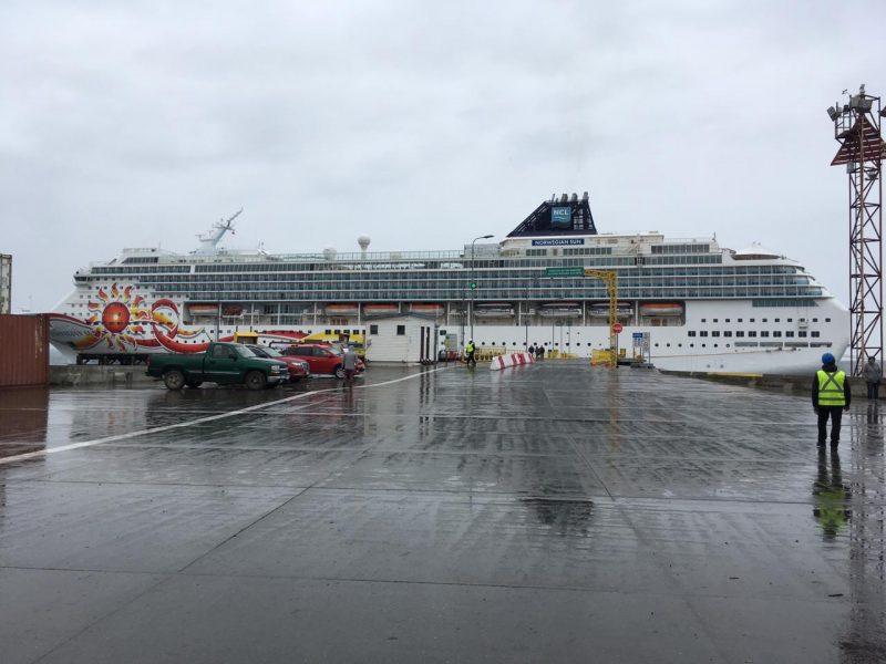 Siete puertos chilenos continuarán atendiendo cruceros esta semana