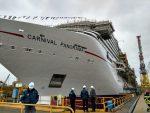 Italia: Lanzan nuevo crucero de Carnival en el astillero de Fincantieri Marghera