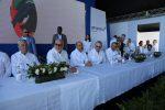 Presidente de República Dominicana encabeza inicio de ampliación de DP World Caucedo