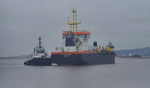 Uruguay: Draga 21 de julio realiza su primera prueba de navegación