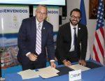 Puerto Everglades firma Memorando de Entendimiento con la Empresa Nacional Portuaria de Honduras