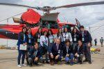 Alumnos de operaciones portuarias del Liceo Poeta Vicente Huidobro visitaron la EXPONAVAL acompañados por ejecutivos de Puerto San Antonio