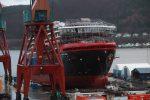 Hurtigruten lanza nuevo crucero de expedición híbrida en astillero Kleven Verft